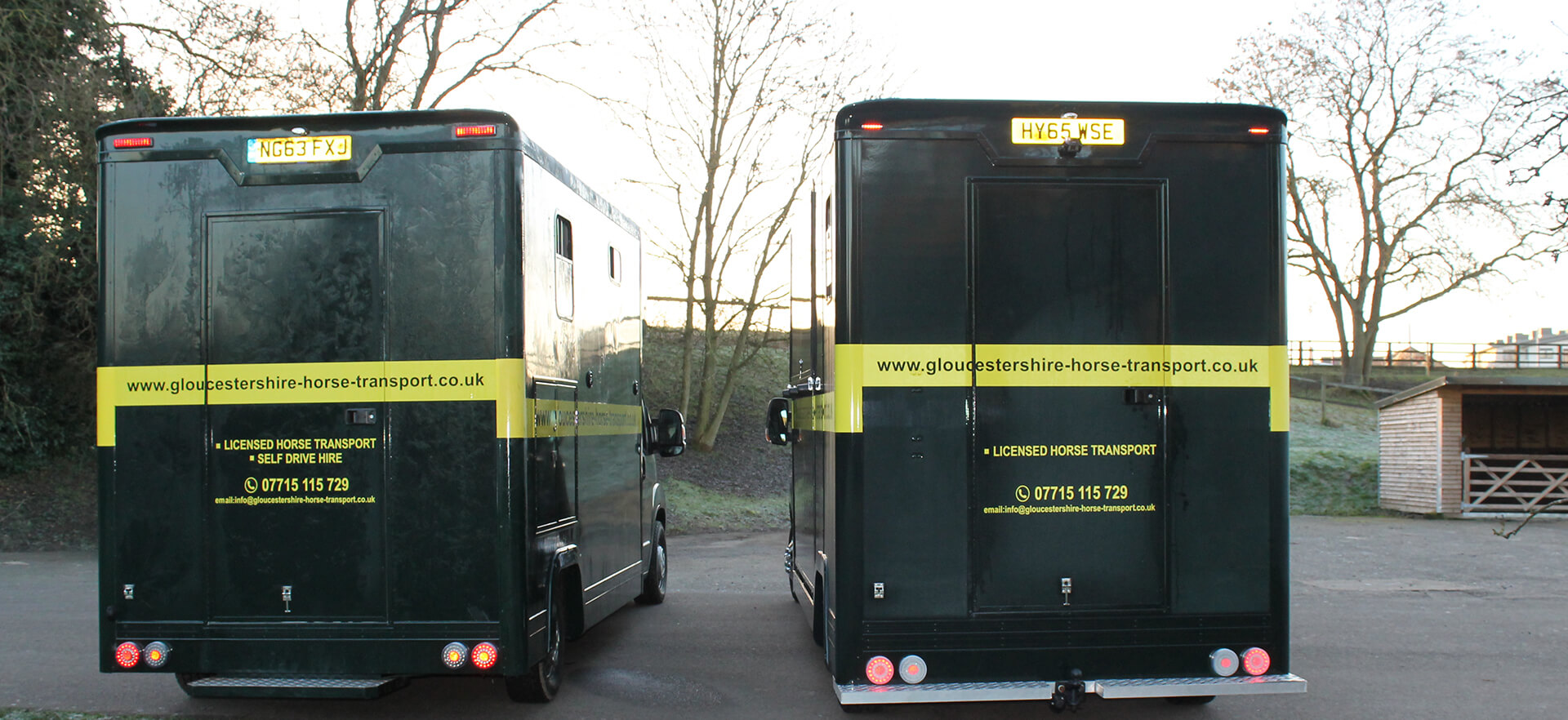 gloucestershire horse transport
